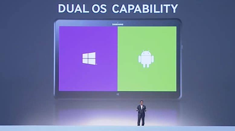 tablet dual os